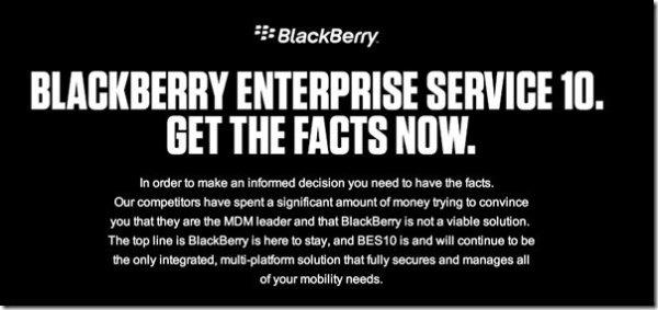 BlackBerry BES10