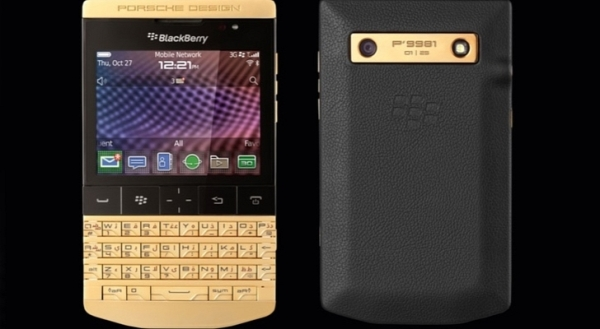 P'9981 from BlackBerry® in gold  2