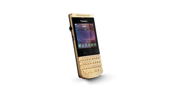 P'9981 from BlackBerry® in gold